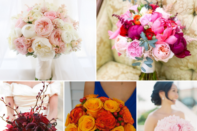 Different beautiful flowers to choose for your wedding