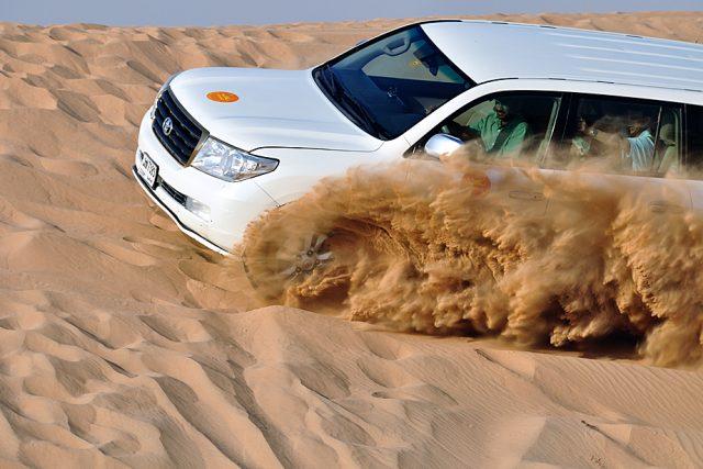 Adventures in a Desert Safari